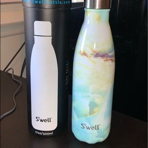 BRAND NEW Swell (S'well) Opal Marble 17 oz bottle